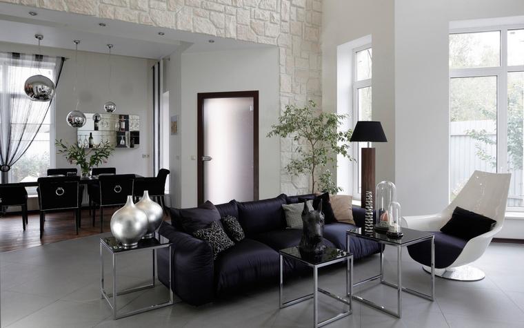 интерьер гостиной - фото № 47155