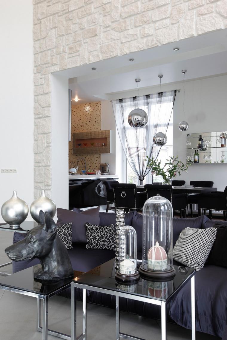 интерьер гостиной - фото № 47156