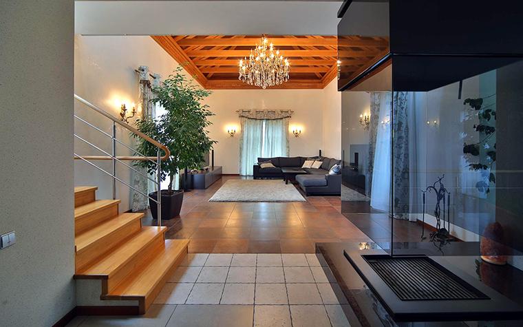 Фото № 47172 гостиная  Загородный дом