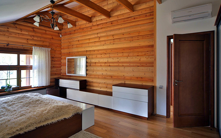 Фото № 47181 спальня  Загородный дом