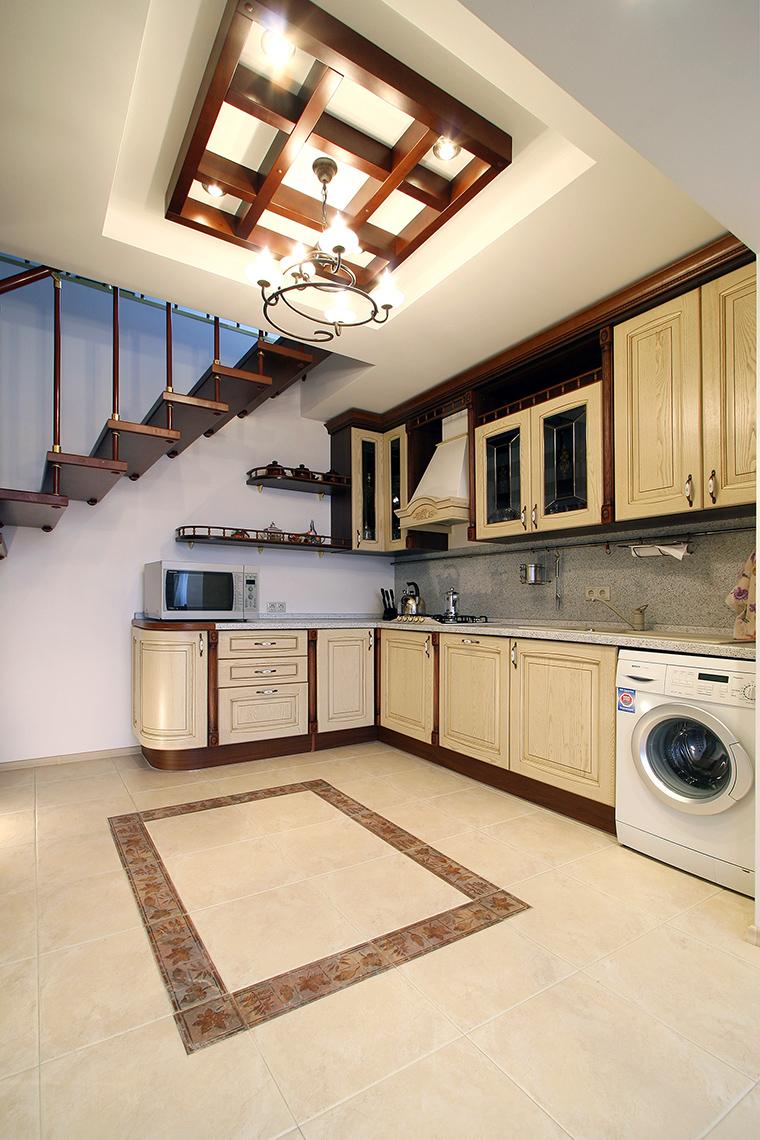 Фото № 47284 кухня  Загородный дом
