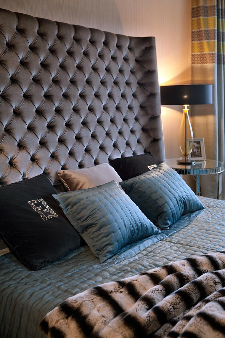 Фото № 47363 спальня  Загородный дом