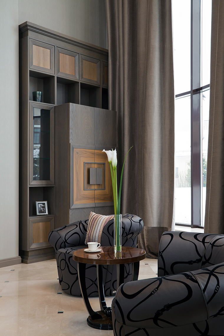 интерьер гостиной - фото № 47354