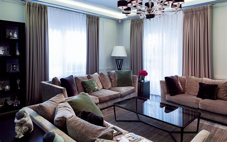 интерьер гостиной - фото № 47534