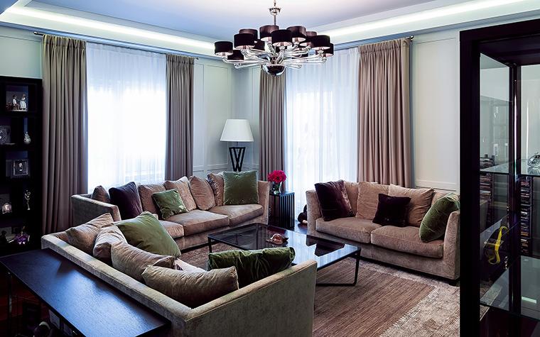интерьер гостиной - фото № 47531