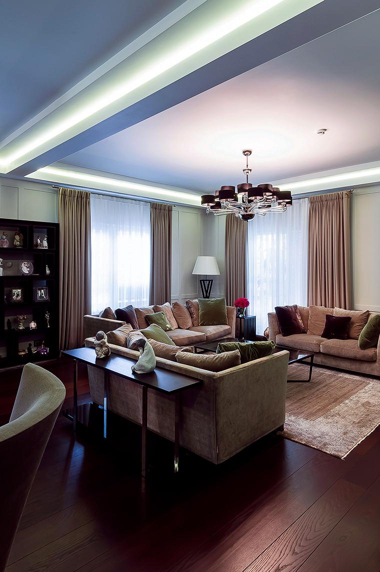 интерьер гостиной - фото № 47532