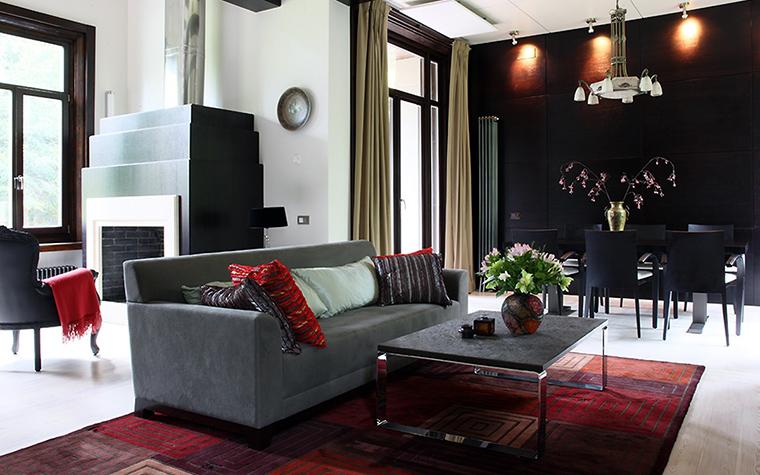 интерьер гостиной - фото № 47572