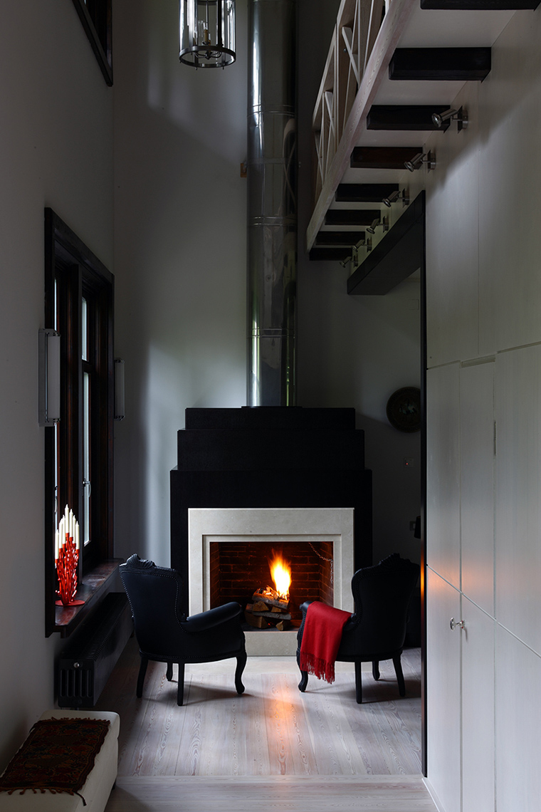 интерьер гостиной - фото № 47573