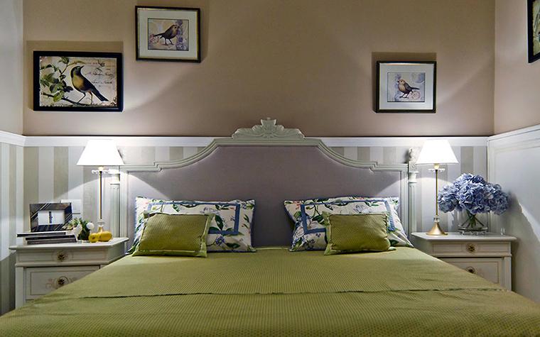 интерьер спальни - фото № 47697