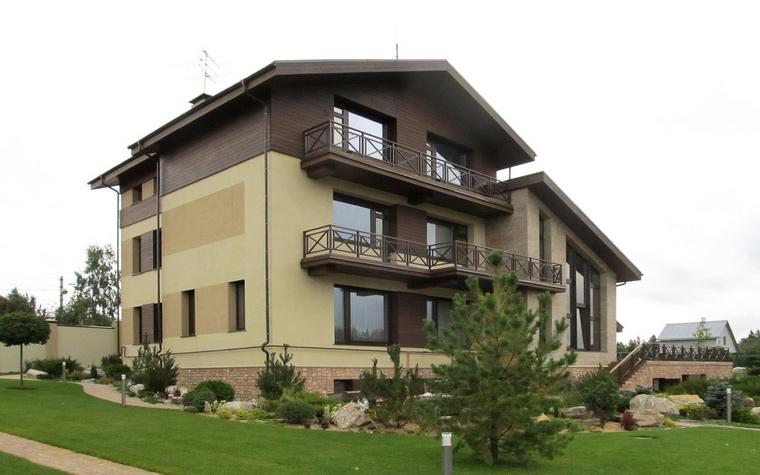 Загородный дом. фасад из проекта , фото №47993