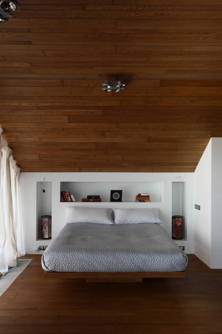 Фото № 48431 спальня  Загородный дом