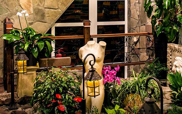 Фото № 48514 зимний сад  Загородный дом