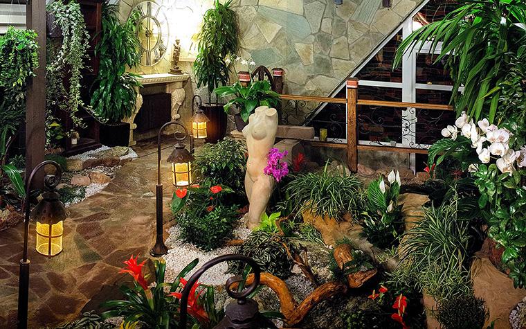 Фото зимнего сада в частном доме