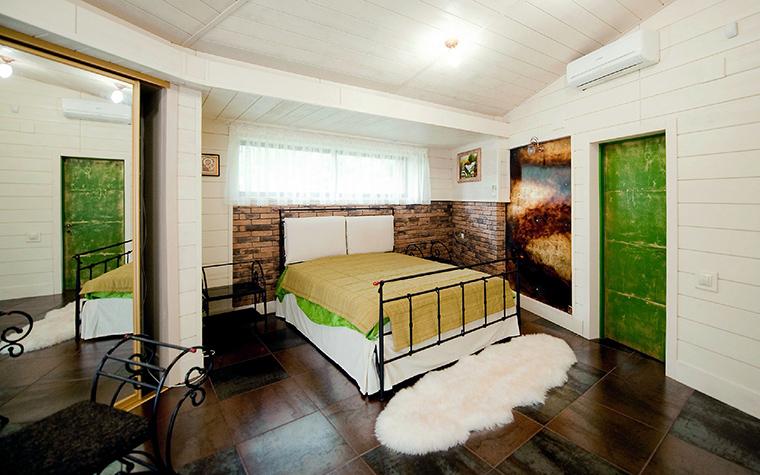 Фото № 48554 спальня  Загородный дом