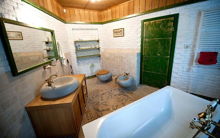 Фото № 48558 ванная  Загородный дом
