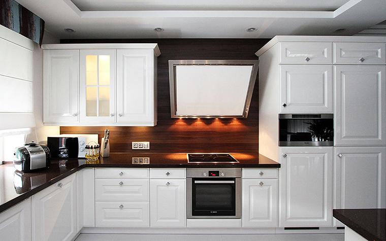 Фото № 48606 кухня  Загородный дом
