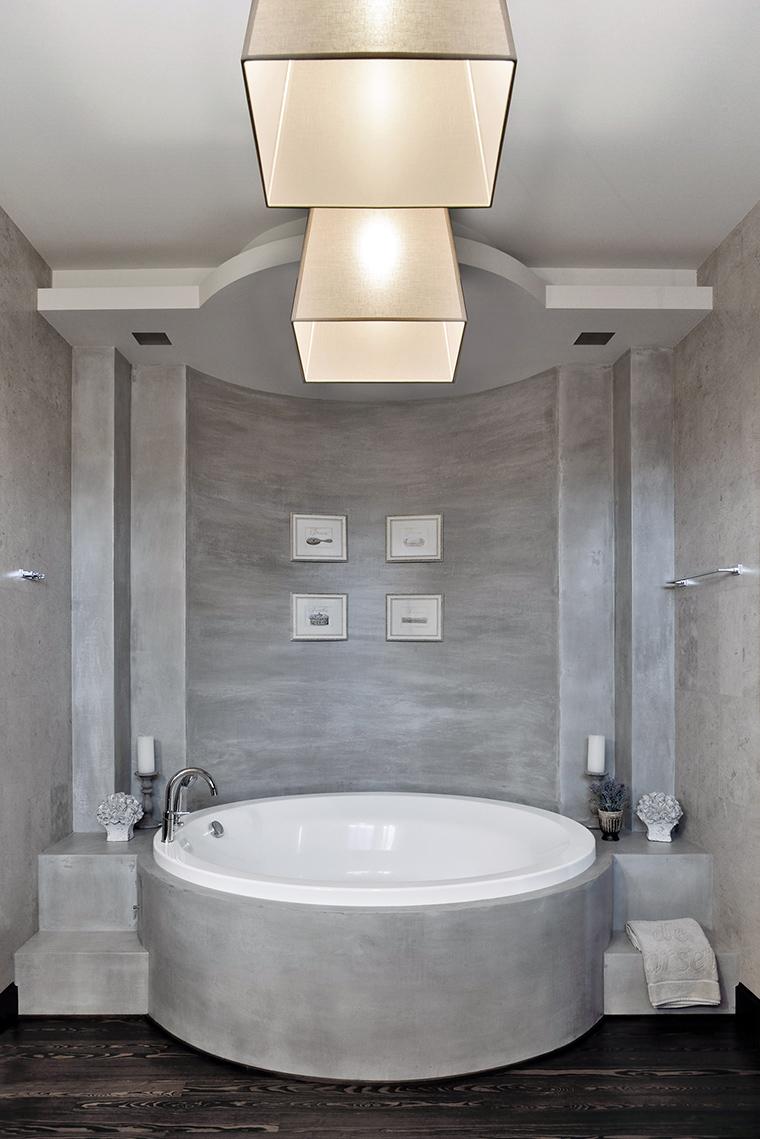 Фото № 48665 ванная  Загородный дом