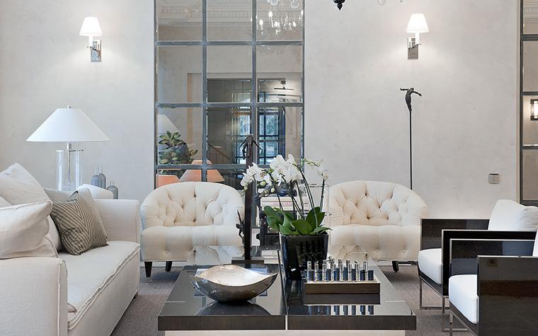 интерьер гостиной - фото № 48909
