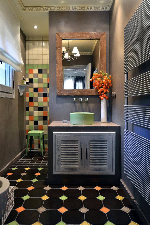 Загородный дом. ванная из проекта , фото №48990