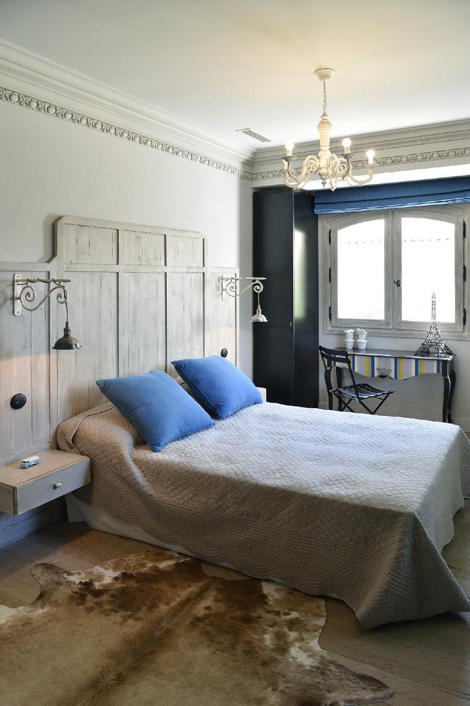 Загородный дом. спальня из проекта , фото №48984