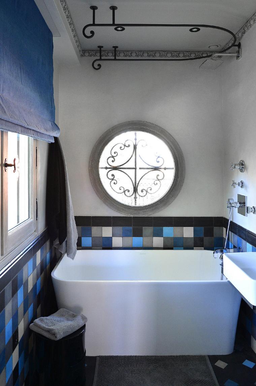 Загородный дом. ванная из проекта , фото №48992