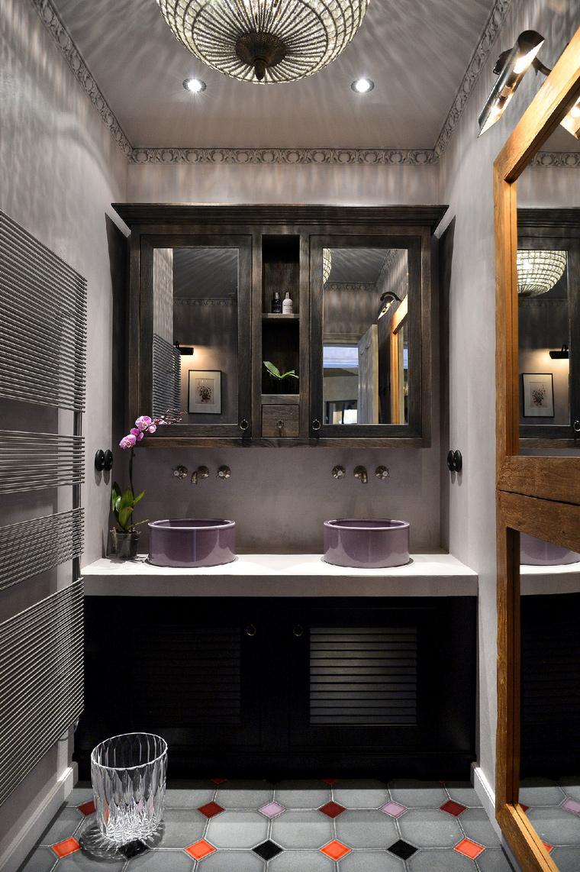 Загородный дом. ванная из проекта , фото №48991
