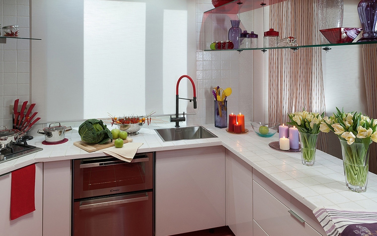 Фото № 49047 кухня  Загородный дом