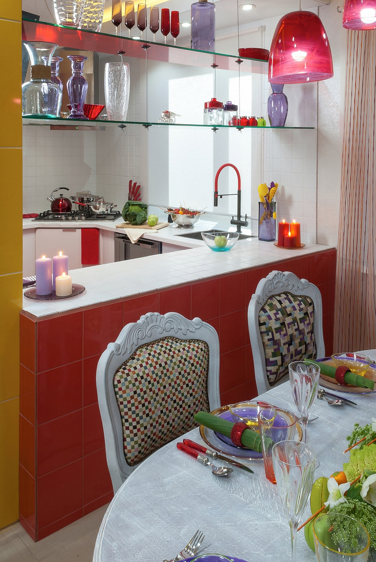 Фото № 49048 кухня  Загородный дом