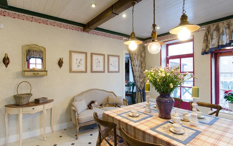 Фото № 49302 кухня  Загородный дом