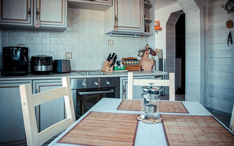 Фото № 49425 кухня  Загородный дом