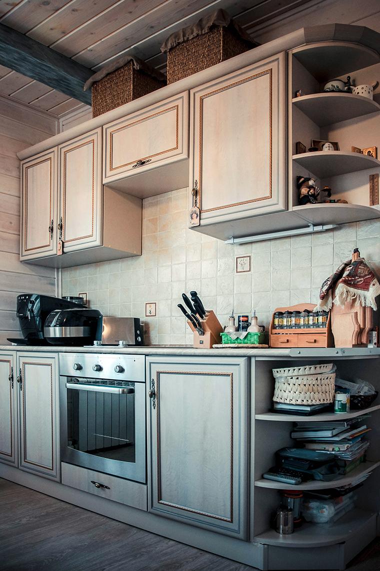 Фото № 49426 кухня  Загородный дом