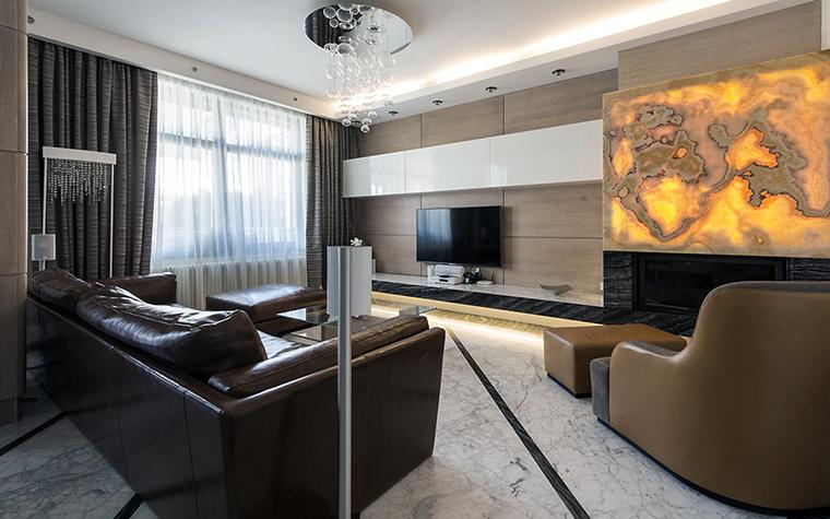 интерьер гостиной - фото № 55680
