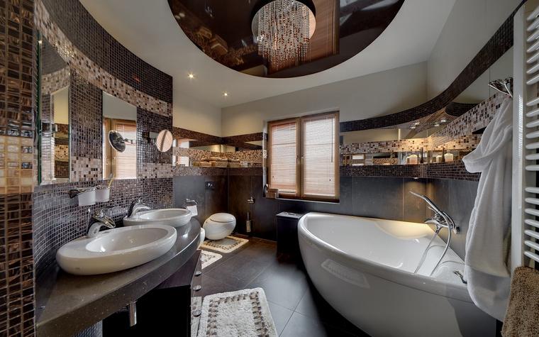 Загородный дом. ванная из проекта , фото №50795