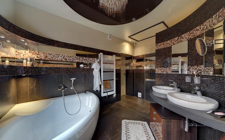 Загородный дом. ванная из проекта , фото №50796