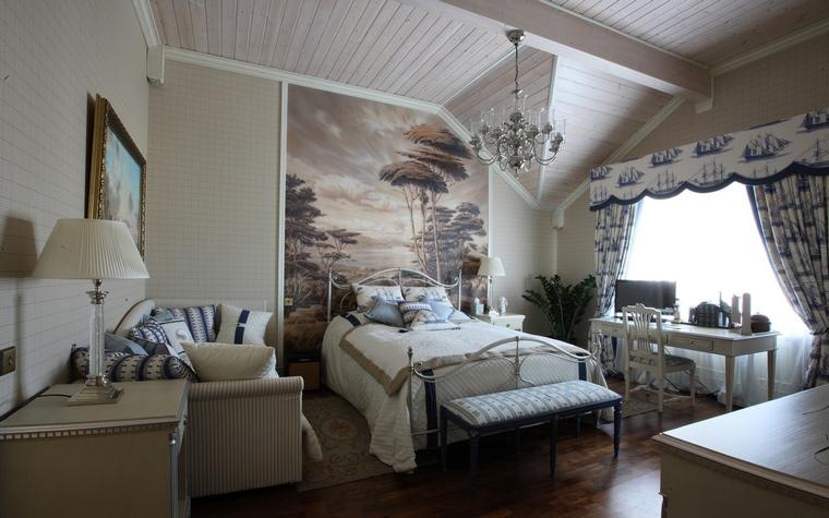 интерьер спальни - фото № 49888
