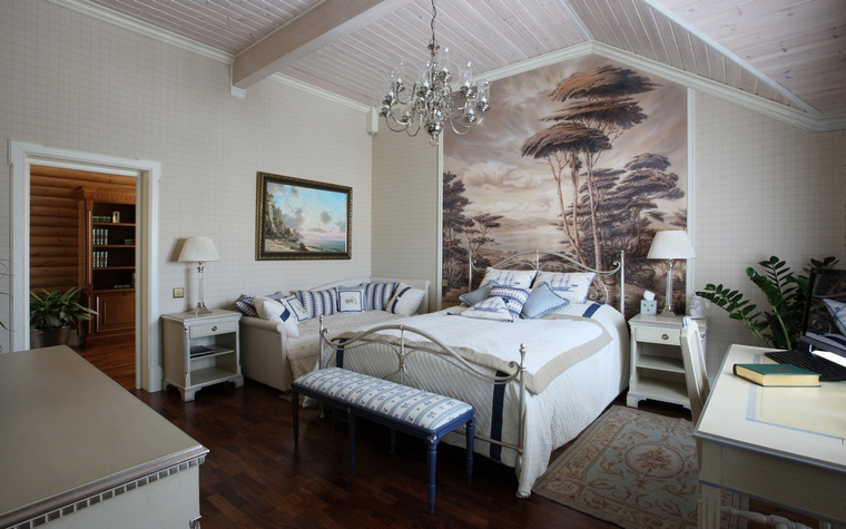интерьер спальни - фото № 49889