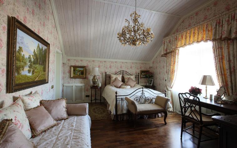 Фото № 49891 спальня  Загородный дом