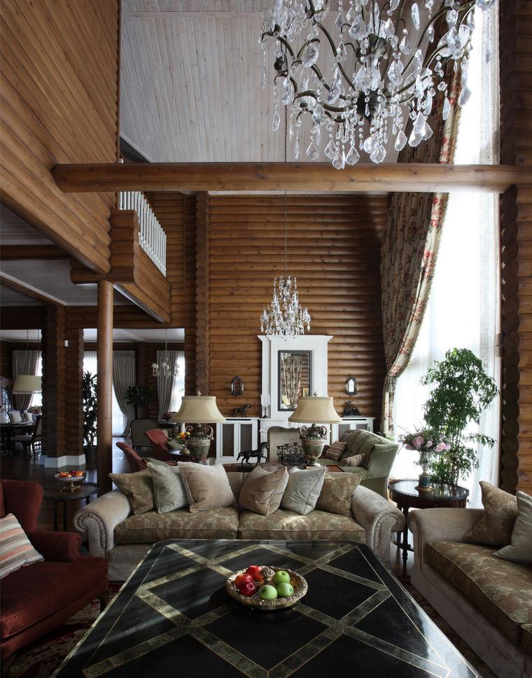 интерьер гостиной - фото № 49866