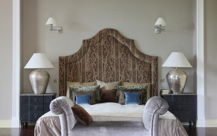 Фото № 49950 спальня  Загородный дом