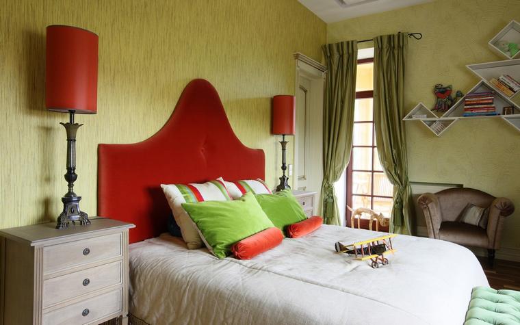 Фото № 49958 спальня  Загородный дом