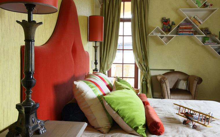 Фото № 49959 спальня  Загородный дом