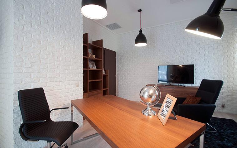 7 домашних кабинетов в стиле лофт