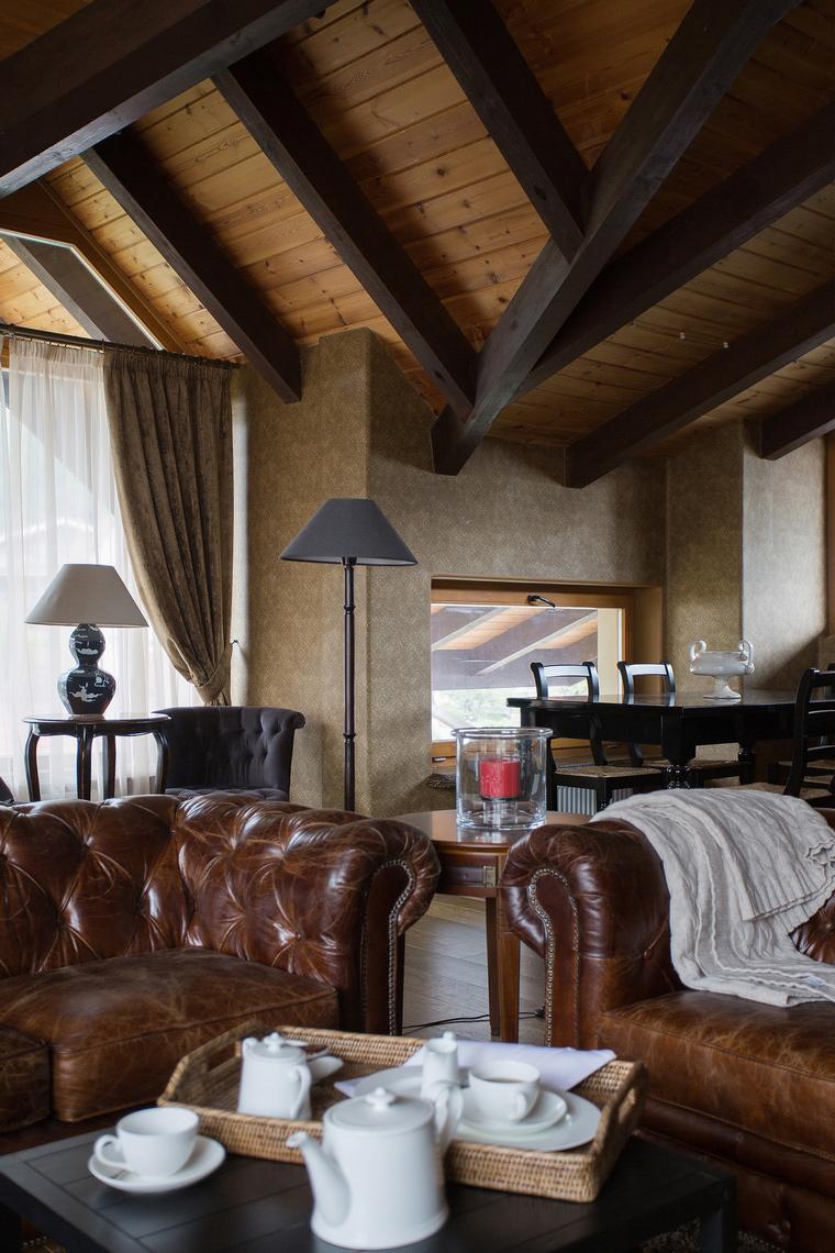 интерьер гостиной - фото № 50348