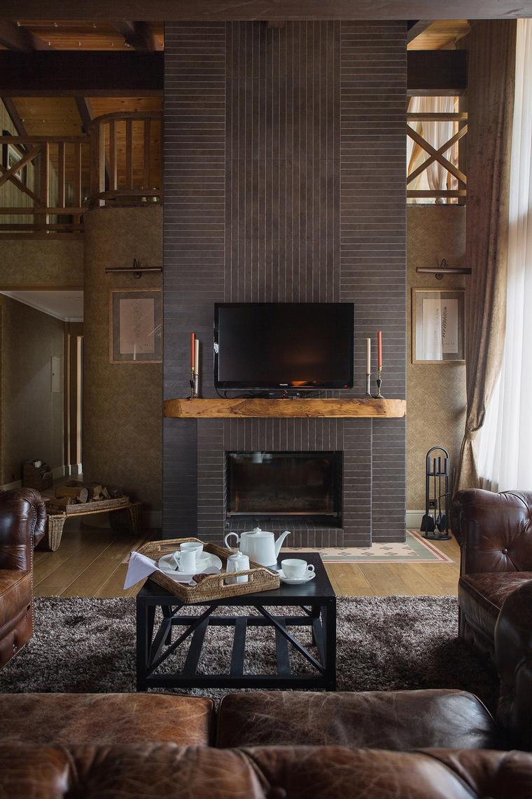 интерьер гостиной - фото № 50350