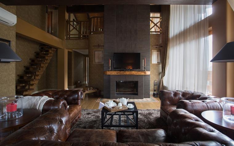 интерьер гостиной - фото № 50351