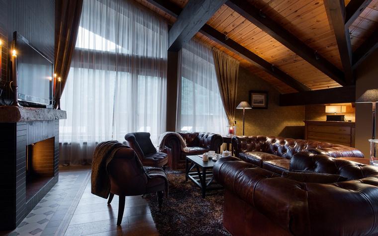 Фото № 50347 гостиная  Загородный дом