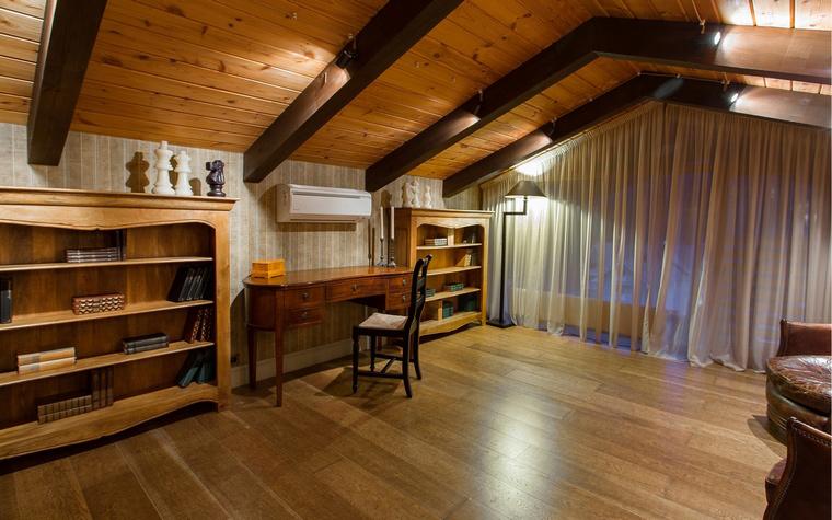Фото № 50363 кабинет библиотека  Загородный дом