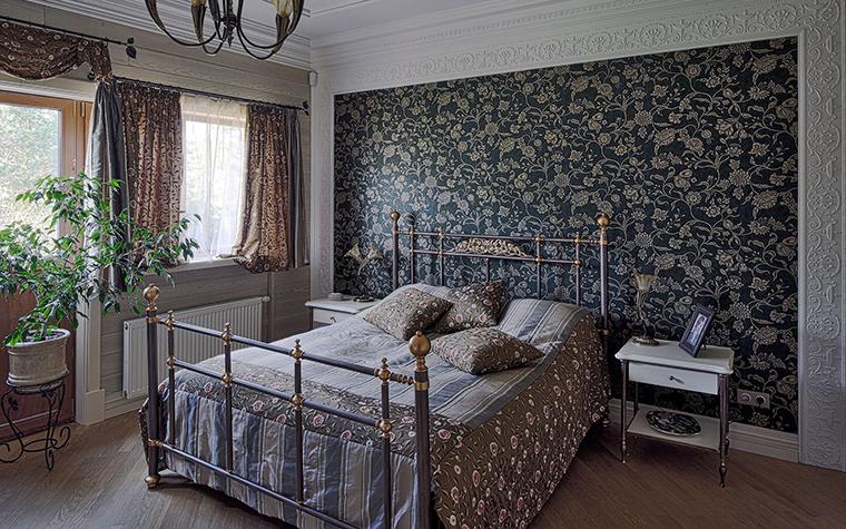 Фото № 51285 спальня  Загородный дом