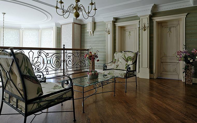 Фото № 51289 гостиная  Загородный дом