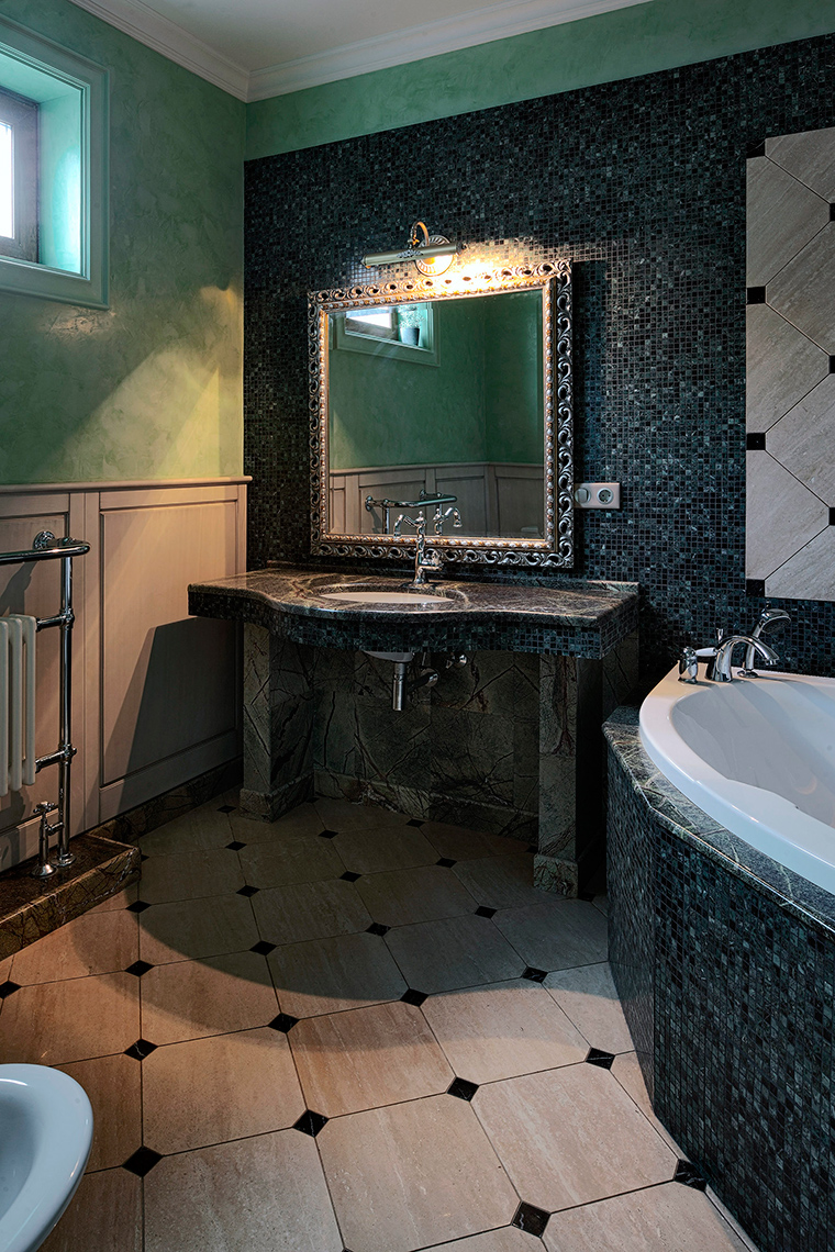 Фото № 51291 ванная  Загородный дом
